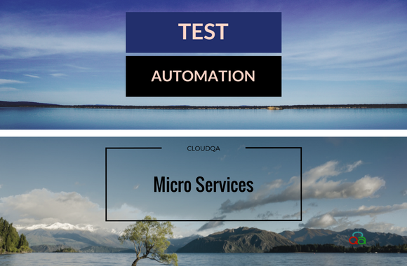 Test Automation Micro Services