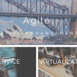 Agile enhancement by service virtualization