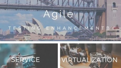 Agile enhancement by service virtualization