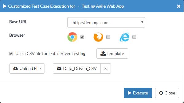 Data Driven Testing